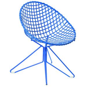 Cadeira Ferro Fun Azul 85x62,50cm Butzke