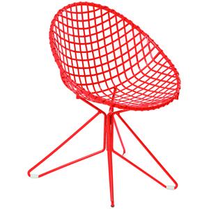 Cadeira Ferro Fun Vermelho 85x62,50cm Butzke