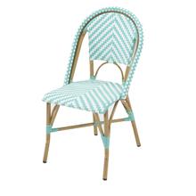 Cadeira Fibra Búzios Verde 88x56cm