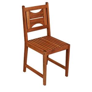 Cadeira Madeira Fixa Violeta 47,5x39cm Metalnew