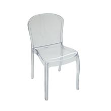 Cadeira Plástico Anna Transparente 82x44,5cm Tramontina