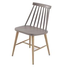 Cadeira Plástico Colmar Taupe 77x42cm