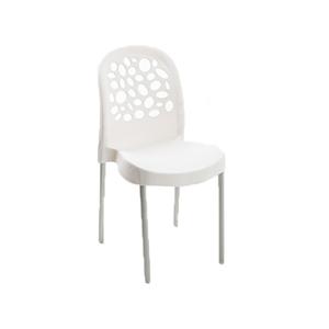 Cadeira Plástico Deluxe Branca 85x41cm