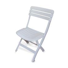Cadeira Plástico Dobráve Diamantina Branca 75,5x40cm