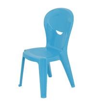 Cadeira Plástico Infantil Vice e Versa Azul 71x38cm