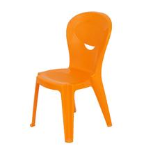 Cadeira Plástico Infantil Vice e Versa Laranja 71x38cm