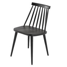 Cadeira Plástico Portree Preta 77x42,5cm