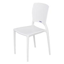 Cadeira Plástico Safira Branca 82x43cm
