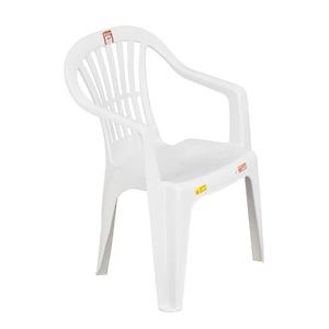 Cadeira Plástico Vila Boa Vista  74x50cm Branco Antares