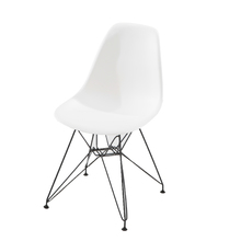 Cadeira Plástico Wire Branca 83x47cm
