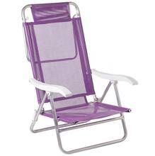 Cadeira Reclinável Sol De Verão Alumínio 88X57cm Sortida Mor