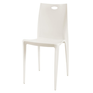 Cadeira Resina Royal Bege 92x55cm Importado