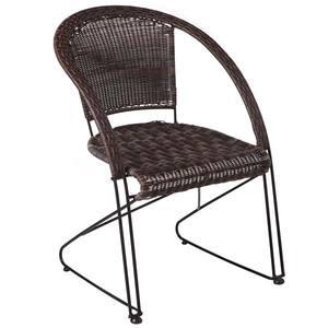 Cadeira Sonata Mestra Ferro Preto Trama Tabaco Mestra