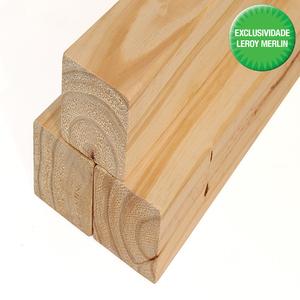 Caibro 8 Aparelhado Pinus E4E 7,5x7,5cmx3m Madvei