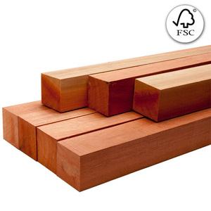 Caibro Saligna Aparelhada Natural 5,5x5,5cmx4m FSC 100% Madvei