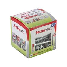 Caixa 25 Bucha Universal 10mm com Parafuso Fischer