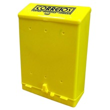 Caixa Correio Amarelo 36 cmx26 cm Para Muro 61 Altimex