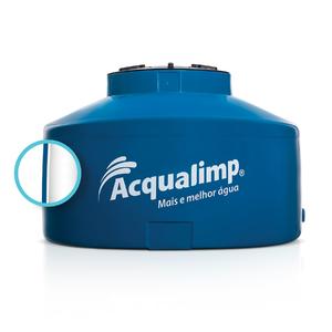 Caixa d'água 310L Polietileno Mate Acqualimp