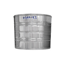 CAIXA DAGUA ACO INOX CAPACIDADE 1500 L AC1500 DIAMETRO 1,15 M DIAMETRO ABERTURA 0,42 M ALTURA 1,62 M