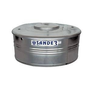 CAIXA DAGUA ACO INOX CAPACIDADE 500 L AC500 DIAMETRO 1,15 M DIAMETRO ABERTURA 0,42 M ALTURA 0,62 M