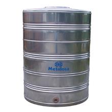 Caixa d'Água de Inox AISI 304 1500L Metalosa