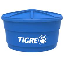 Caixa d'Água de Polietileno com Tampa 2000L Azul Tigre