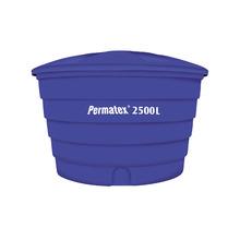 Caixa d'Água de Polietileno 2500L Azul com Tampa Permatex