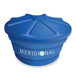Caixa d'Água de Polietileno 3000L Azul Meridional