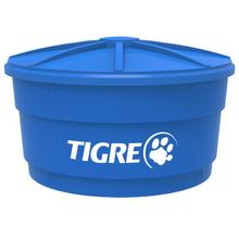 Caixa d'Água de Polietileno com Tampa 3000L Azul Tigre