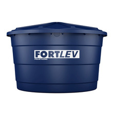 Caixa d'Água de Polietileno 3000L Azul 1,38m Fortlev