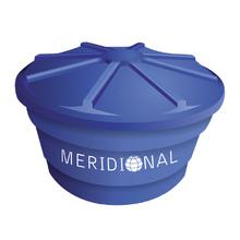 Caixa d'Água de Polietileno 310L Azul Meridional