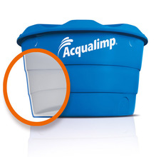 Caixa d'Água Dupla Proteção 3000L Acqualimp