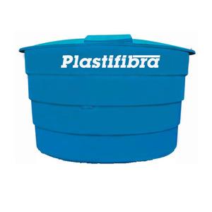 Caixa d'Água Fibra de Vidro 2000L Azul Plastifibra
