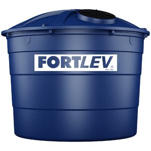 Caixa d'água Polietileno 15.000L Tampa Rosca Azul Fortlev