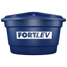 Caixa d'água Polietileno 500L Azul Fortlev