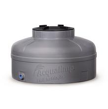 Caixa d'água Polietileno 500L Linha Fácil Instalação Cinza 112x85cm Acqualimp