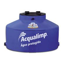 Caixa d'Água Polietileno Capacidade 500L Residencial Linha Água Protegida 115x70cm Acqualimp