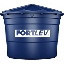 Caixa d'água Polietileno 5.000L Azul Fortlev