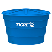 Caixa d'água Polietileno Azul 5000L Tigre