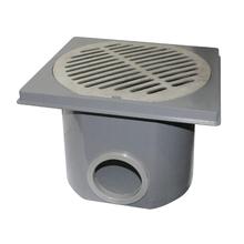 """Caixa de Águas Pluviais Plástico ABS 100mm/4"""" Sanifix"""