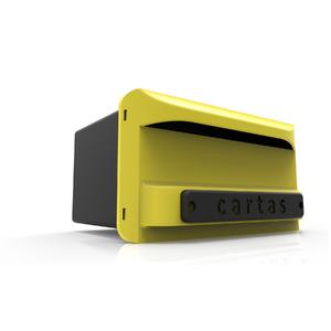 Caixa de Correio Grade e Muro Amarela Altimex