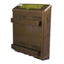 Caixa de Correio Plástico Bronze Master Para Grade 36 cmx26 cm Altimex