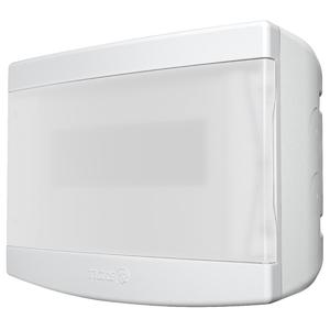 Caixa de Distribuição de Sobrepor 6/8 Disjuntores PVC Transparente Tigre
