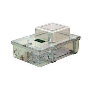 Caixa de Distribuição Monofasica Transparente (RJ) Plastimax