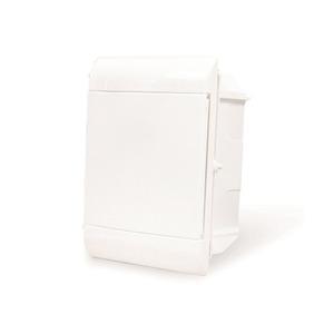 Caixa de Distribuição para Embutir Branca para 5 Disjuntores DIN Steck