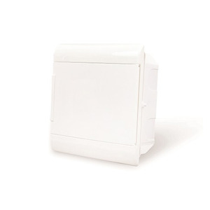 Caixa de Distribuição para Embutir Branca para 8 Disjuntores DIN Steck
