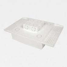Caixa de Embutir Painel LED Laje H-30 18w 22,5X22,5cm Mão na Obra