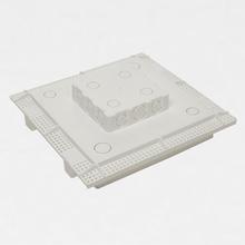 Caixa de Embutir Painel LED Laje H-30 24w 30X30cm Mão na Obra