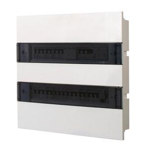 Caixa de embutir para 36 disjuntores Pvc transparente Siemens