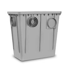 Caixa de Gordura Plástica com Tampa 52L 520x330x510mm Roma